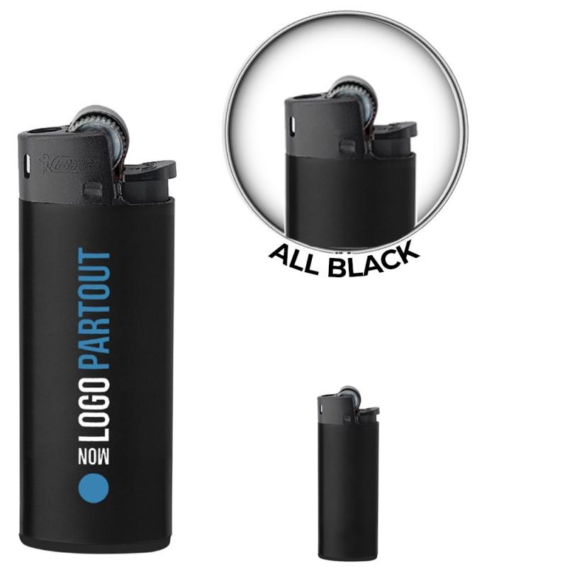 Briquet Mini BIC ® J25 All Black Publicitaire Briquet Mini BIC ® J25 All Black Publicitaire