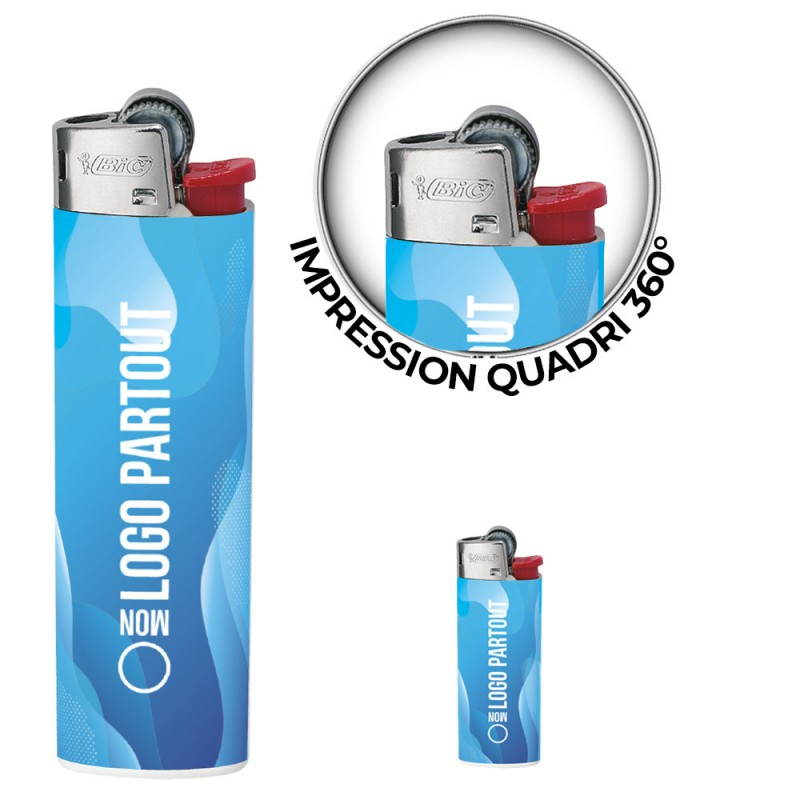 Briquet Publicitaire Bic ® J23 Digital Briquet Publicitaire Bic ® J23 Digital