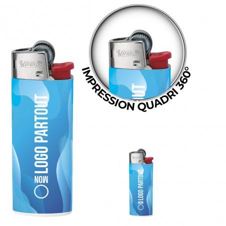 Briquet BIC ® Mini J25 Digital Publicitaire Briquet BIC ® Mini J25 Digital Publicitaire