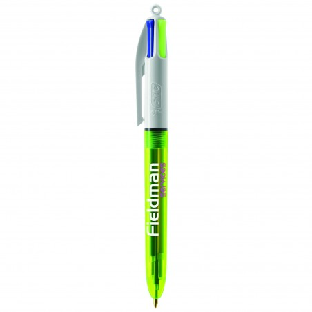 Stylo BIC ® 4 Couleurs Fluo