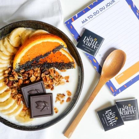 Carré de chocolat personnalisable 4 gr Le petit carré de chocolat - Ambiance
