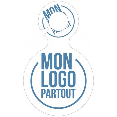 Porte-clés jeton publicitaire François Porte-clés jeton publicitaire François - Mon logo