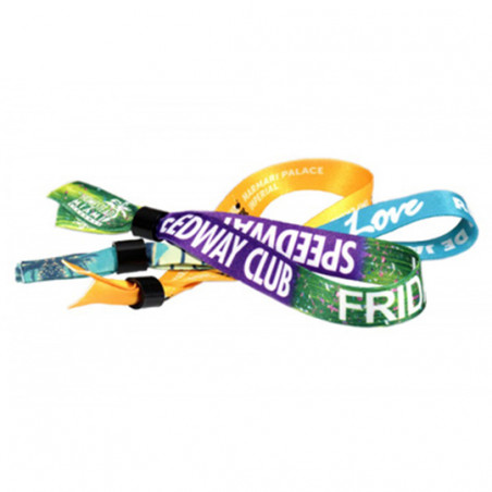 Bracelet publicitaire quadri Event Bracelet publicitaire quadri Event