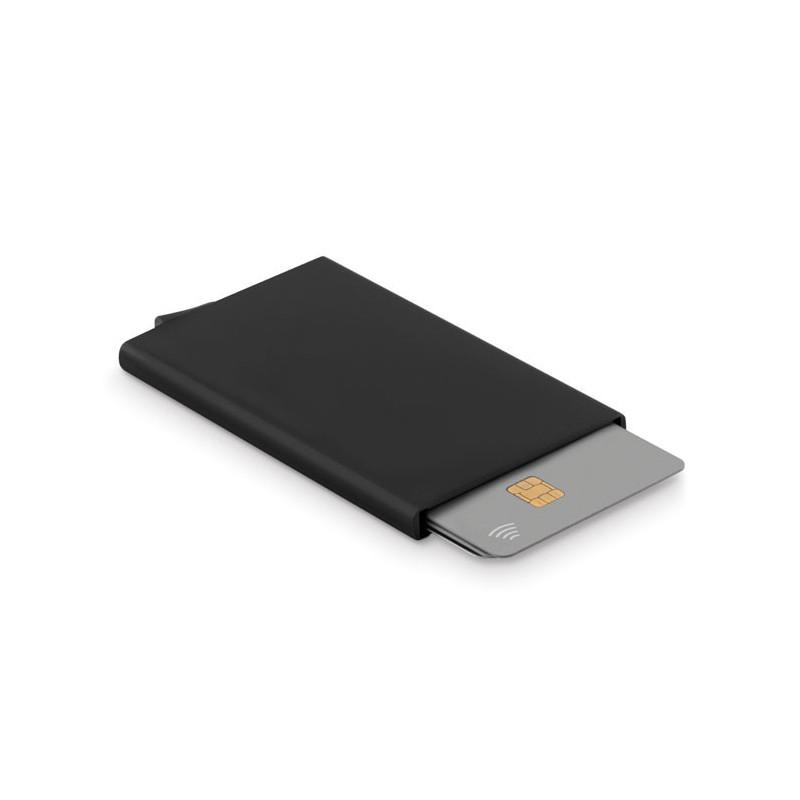 Porte-cartes de crédit aluminium Anti-RFID