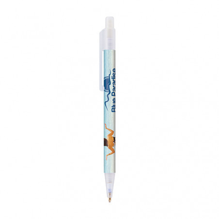 Stylo personnalisable Astaire givré Stylo personnalisable Astaire givré - Blanc