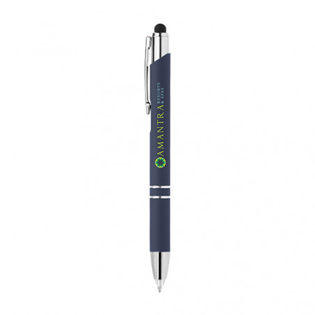 Stylo publicitaire Crosby lumineux stylet personnalisable Stylo publicitaire Crosby lumineux stylet personnalisable - Bleu 295