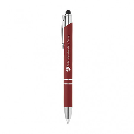Stylo publicitaire Crosby lumineux stylet personnalisable Stylo publicitaire Crosby lumineux stylet personnalisable - Rouge 188