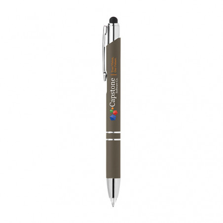 Stylo publicitaire Crosby lumineux stylet personnalisable Stylo publicitaire Crosby lumineux stylet personnalisable - Gris 425