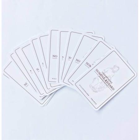Jeu de 55 Cartes Publicitaire Rami Jeu de 55 Cartes Publicitaire Rami - Carte personnalisé