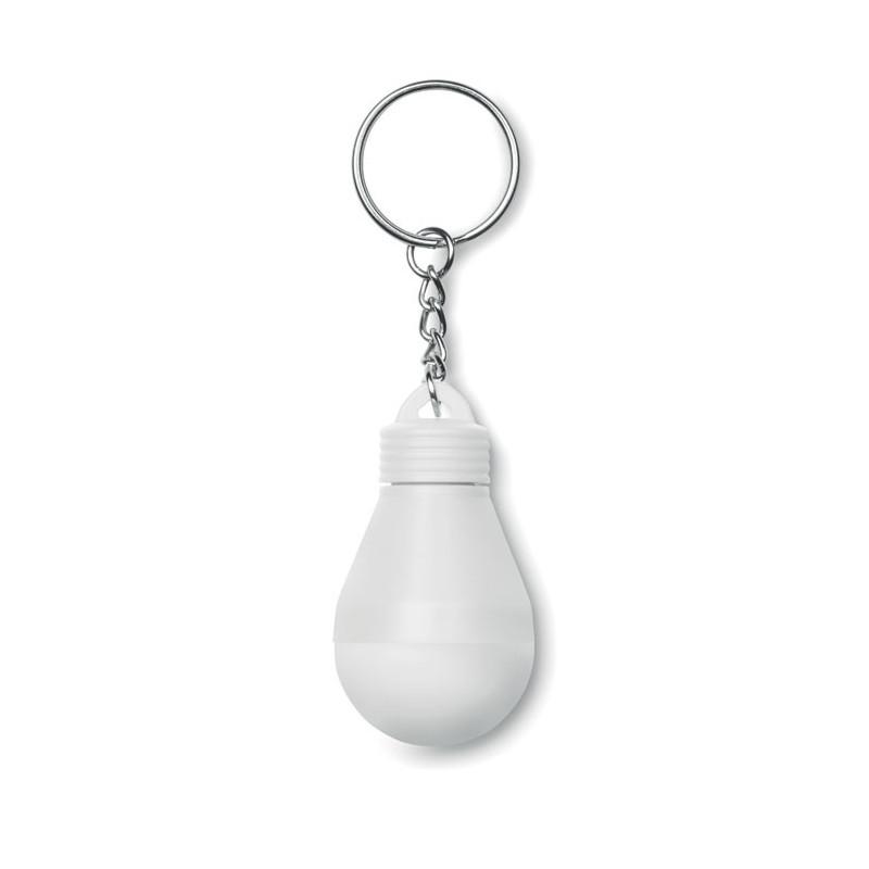 Porte-clés Personnalisé Ampoule Color