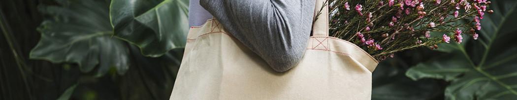 Tote Bags publicitaires en coton naturel