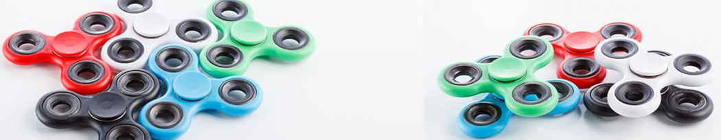 Hand Spinner et Fidget Spinner  personnalisé publicitaire