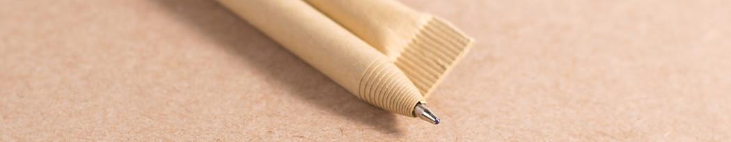 Personnalisez vos stylos biodégradables