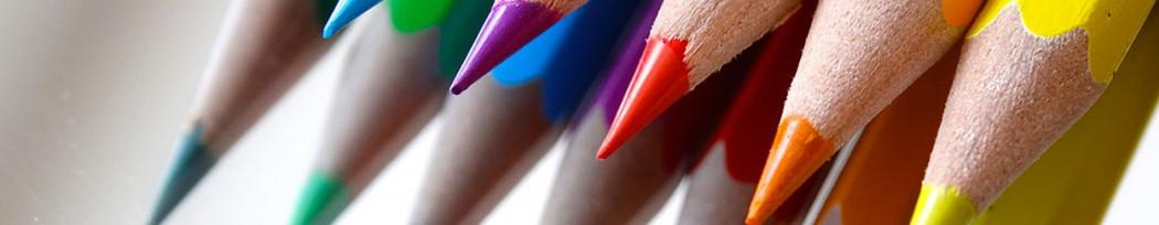 Boîtes de crayons de couleurs personnalisées