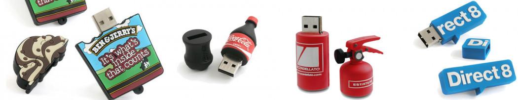 Clés USB Sur-mesure Publicitaires Personnalisées